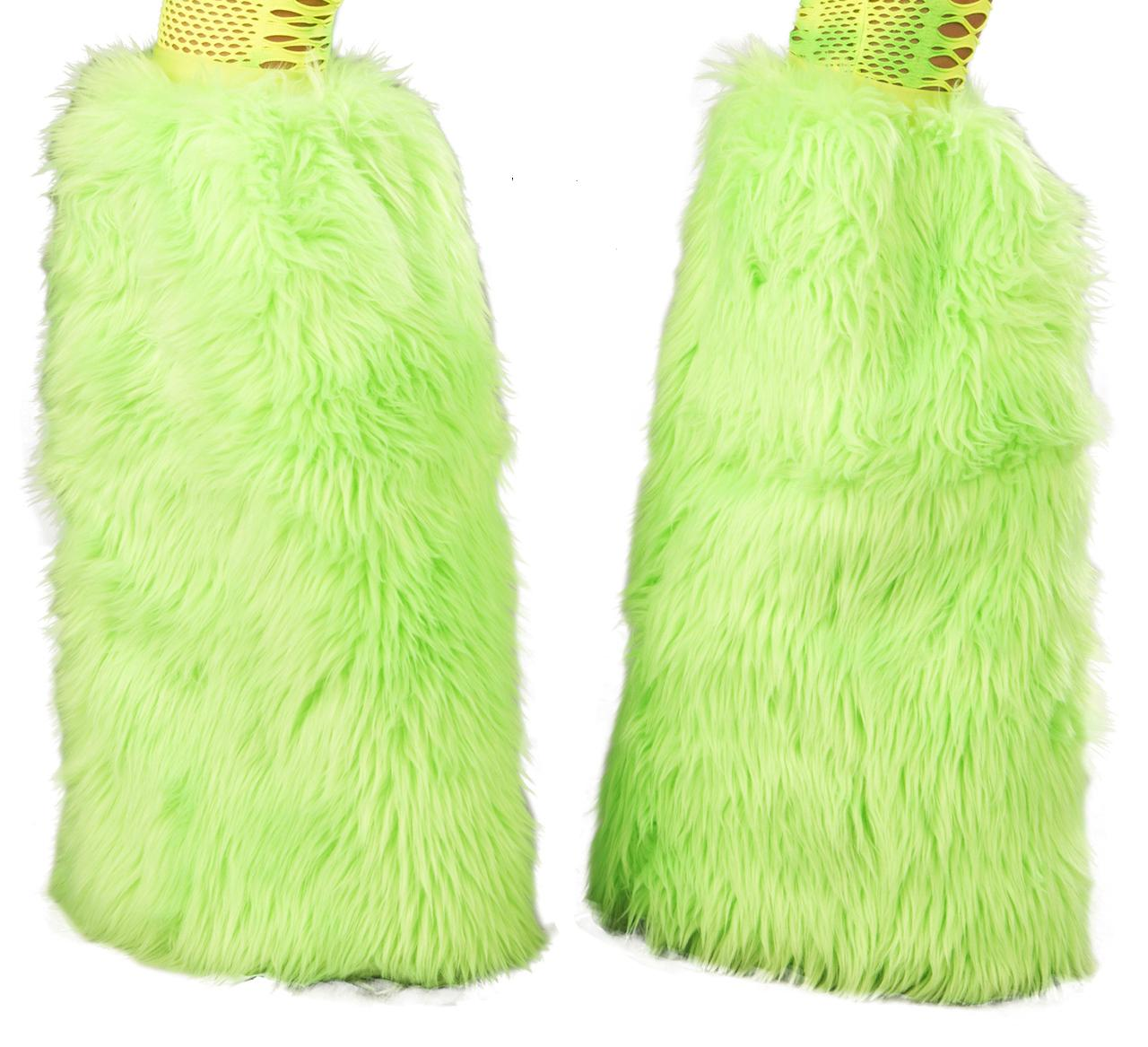 Faux fur Superfluffie-UV-LIME