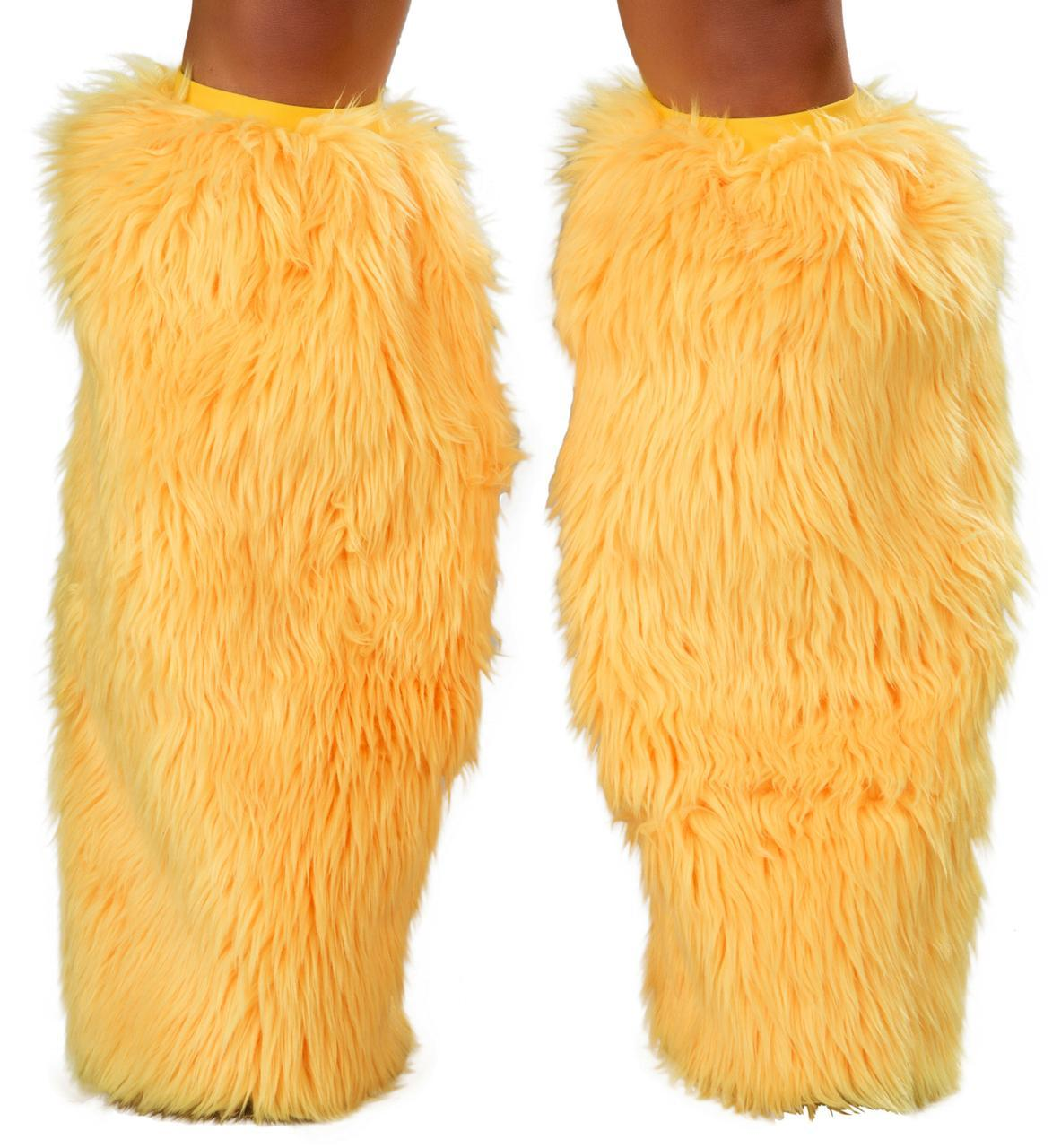 Faux fur Superfluffie-UV-YELLOW