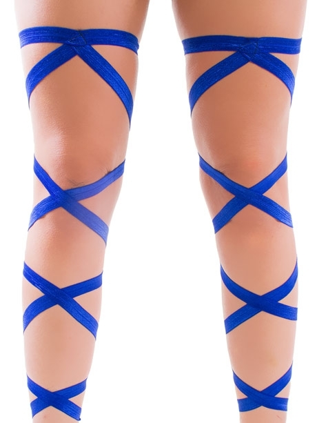 LEG WRAPS ROYAL BLUE PAIR